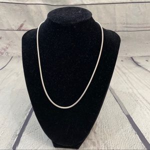 Jewelry - 925AGI cable chain sterling silver necklace